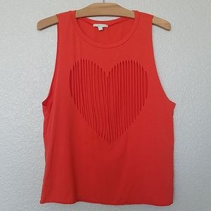 Heart Cut Out Muscle Tank